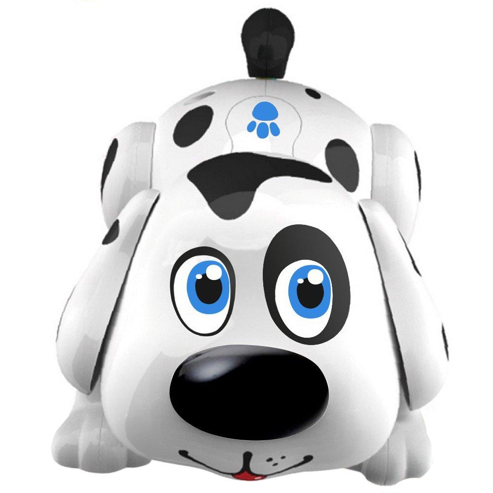 test robot enfant chien harry