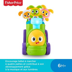 test robot enfant fisher-price bebo
