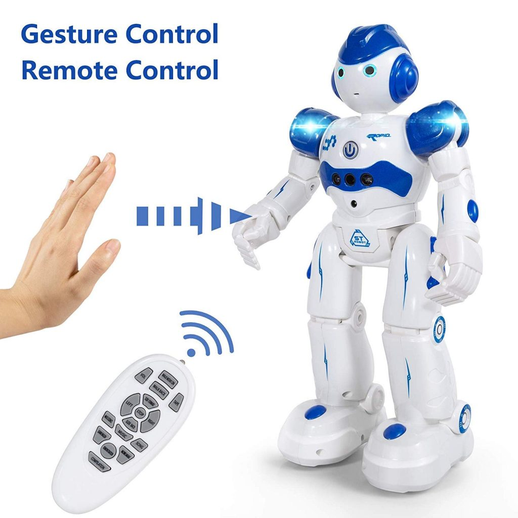 test robot enfant kk bol