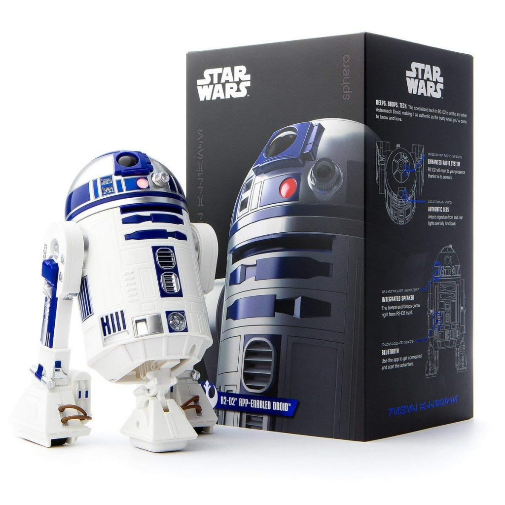 test robot enfant sphero star wars r2 d2